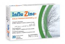 Photo of Influ Zinc دواعي الاستخدام موانع الاستخدام الأعراض الجانبية