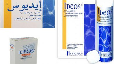 Photo of Ideos دواعي الاستخدام احتياطات الاستخدام الأعراض الجانبية