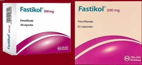 fastikol علاج ارتفاع الدهون